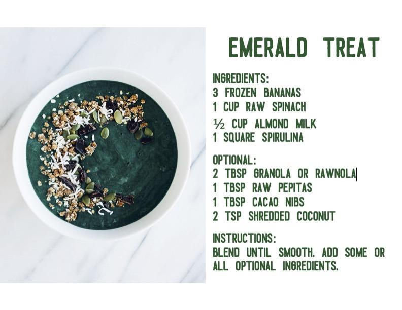 Emerald Treat