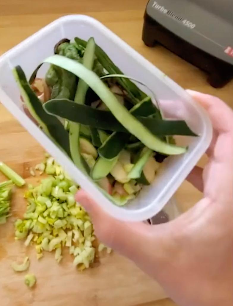 Zucchini Scraps