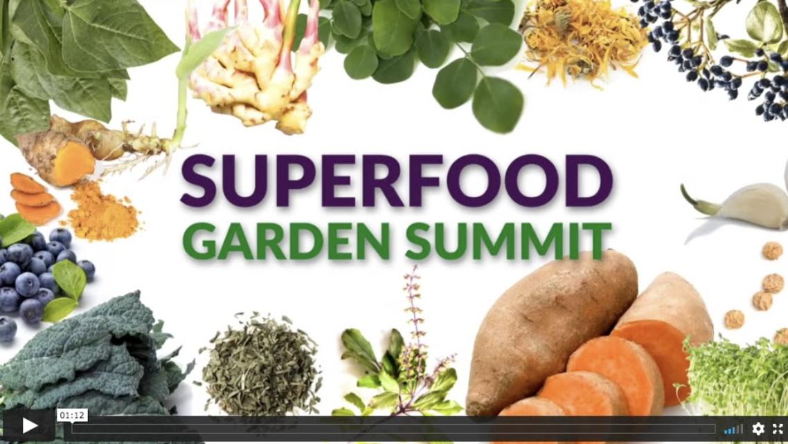 Superfood Garden Summit Logo