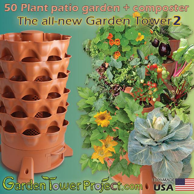 Superfood Garden Summit Sponsor: GARDEN TOWER